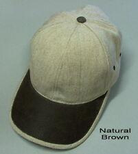 Heavy Textured Cotton Linen Blend Cap (Pack of 10)