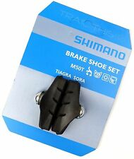 Genuine Shimano M50T BR-1055 Road Bicycle Brake Pads / Shoes fits Tiagra Sora