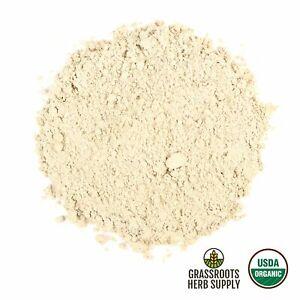 Organic Slippery Elm Bark, Powder (Ulmus rubra)