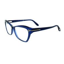 c88604bcbc7 Tom Ford FT5376 090 Blue Women s Full Rim Cat Eye Frame