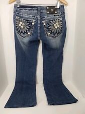Womens Miss Me Bootcut Jeans 27 X 34 Cool Pockets