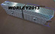 Pair aluminium tool box under tray Ute Storage for Ford Mazda