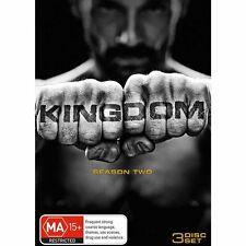 KINGDOM (Frank Grillo): THE COMPLETE SEASON 2 (Part 1) - DVD - REGION 4 - Sealed