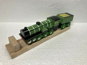 Flying Scotsman Wood Train - works with Thomas & Friends