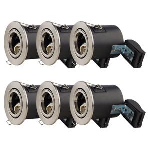 GU10 Spotlight Downlight Fitting LED GU10 IP20 IP65 Rated Recessed Ceiling Light