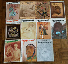 """""""The Leather Craftsman"""" The Craftsman Magazines - Volume VI, X and XI - 1966"""