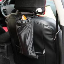 Auto Car Trash Can Garbage Back Seat Organiser Storage Hanging Bag Pocket 6L