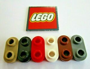 LEGO Plate 1x2 with Rounded Ends and Open Studs (Packs of 8) Design ID 35480
