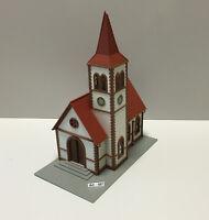 Pola 1030 H0 Kirche,Gotische Pfarrkirche, gut geklebt,1:87, sehr selten und RAR