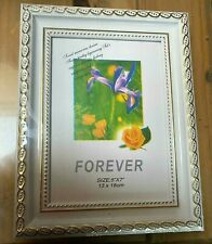 CLASSICAL VINTAGE WHITE AND GOLD PHOTO DISPLAY FRAME ( PACK OF 2 )