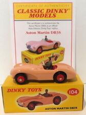 Atlas Editions Dinky Toys Number 104 Aston Martin DB3S MIMB