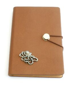 Octopus L Notepad Jotter Notebook Record Book Ideal Sea Life Gift 248