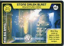 Doctor Who Monster Invasion Extreme Card #321 Stone Dalek Blast