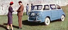 1958 Fiat 600 Multipla Factory Photo J623