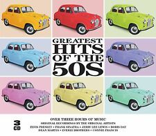 3 CD BOX GREATEST HITS 50s PRESLEY MARTIN FRANCIS DAY LEE LEWIS HALEY DONEGAN