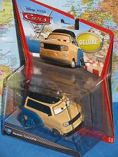 DISNEY PIXAR CARS 2 PINION TANAKA DELUXE #7 ***BRAND NEW & RARE***