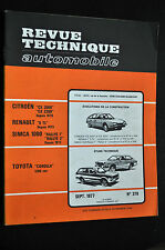 Revue technique automobile toyota corolla n° 370