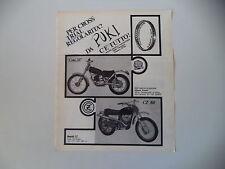 advertising Pubblicità 1970 MOTO MONTESA COTA 247/CZ 360