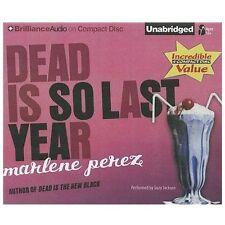 Dead Is: Dead Is So Last Year 3 by Marlene Perez (2012, CD, Unabridged)