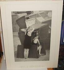 "SIBYLLE BERGEMANN ""SELLIN /RUGEN 1980"" LARGE POSTER PRINT IN NETHERLANDS 1987"
