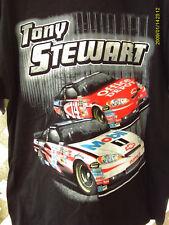 TONY STEWART SHIRT 2011 MOBIL1 SHIRT NASCAR BRAND LARGE