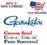 Gamakatsu hook fishing boat rod kayak fish car truck suv laptop decal sticker