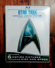 STAR TREK Original Movie Collection Blu-ray -NEW/Sealed (6 movies) FREE SHIPPING