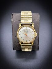 Vintage Hallmark / Waltham- National Precision Watch 18k GP - 17J