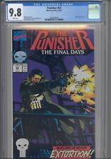 Punisher #53 CGC 9.8 1991 Marvel Comics Kingpin App Final Days Story : New Frame