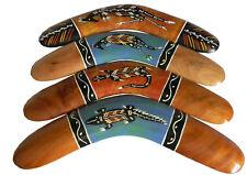 "16"" Australian Made Hardwood Boomerang Australia Artist Michael J. Connolly"