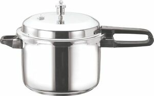 VINOD Stainless Steel Induction Pressure Cooker 5L (Outside Fitting Lid)
