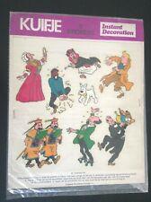 Plaquette d'autocollants Tintin Instant décoration 1972 TBE