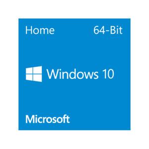 Microsoft Windows 10 Home - 64-Bit DVD (OEM) With Product Key Inside