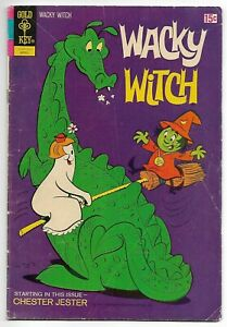 Wacky Witch #6 (Gold Key, 1972) – Chester Jester – FN