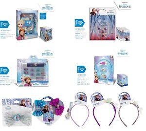 Kids Girls Xmas Gift Frozen II Accessories,Bobbles,Hair Bows,Headband,Hairbrush