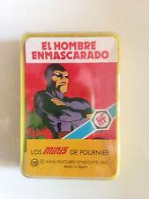 1978 Heraclio Fournier Cartas Mini El Hombre Enmascarado -Rara Cubierta Completa