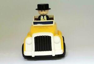 Thomas Friends 1997 TOMY Sir Topham Hatt Push and Go Yellow Car Britt Allcroft