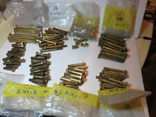 "1/2"" - 13 Hex Bolts Brass Cap Screws Nuts Lot of 110 Nuts 120 Bolts New 2"" to 6"""