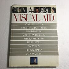 Visual Aid,1986,Leibovitz,Mapplethorpe,Ritts,Warhol, photos of celebs for Africa