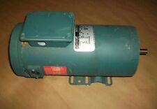 Reliance DC Motor T5S1013A WY   1HP   180VDC  1750RPM  MF0056HC frame