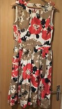 Beautiful Laura Ashley Size 12 Silk Floral Summer Dress - Immaculate Condition