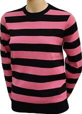 #9949  carhartt Pullover Sailor Sweater  L  black/candy