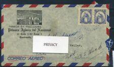Guatemala 1962 Busta 100% Lettera Busta