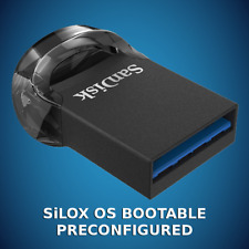 SiLOX OS 64-bit 256GB for old/new computers with/without a failing drive