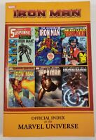 Iron Man Official Index To The Marvel Universe Comics Papaerback Back