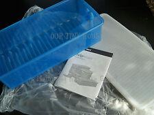 Tupperware FRIDGESMART Medium LONG Cool Blue Extends Produce Freshness NEW