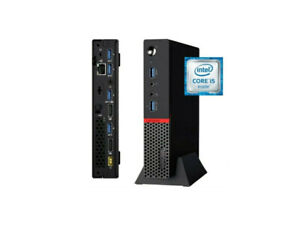 Refurbished Lenovo ThinkCentre M900-Tiny Core i5-6500T 2.5GH, 16GB, 512GB SSD