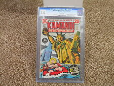 Kamandi 1 cgc 7.0 DC 1st Kamandi 1st Doctor Canus 1st Ben Boxer ow pages 1972