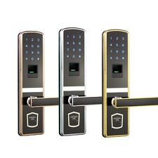 Digital Door Lock Touch Screen Fingerprint Password Keyless Smart Home Security