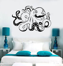 Vinyl Wall Decal Octopus Sea Ocean Monster Beast Stickers (1557ig)